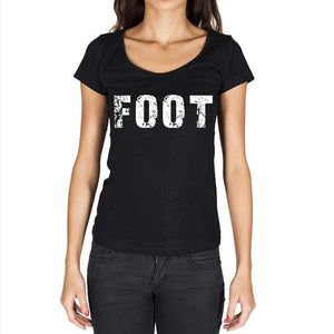 Foot Womens Short Sleeve Round Neck T-Shirt - Casual