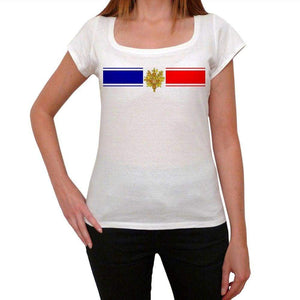 France 2 Womens Short Sleeve Scoop Neck Tee 00171