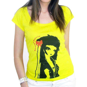 Geisha: Womens T-Shirt Short-Sleeve One In The City