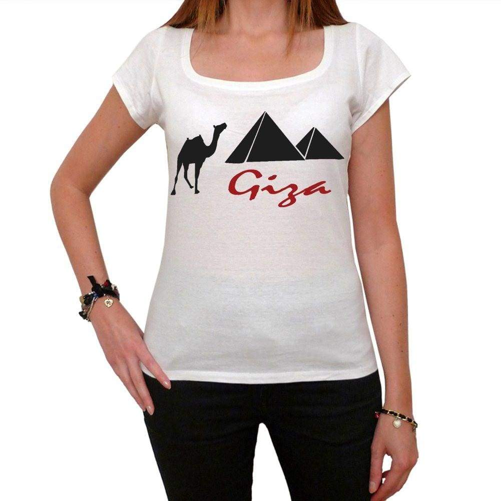 Giza Tshirt Womens Short Sleeve Scoop Neck Tee 00181
