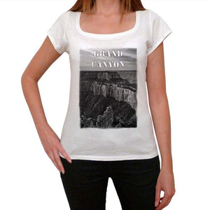 Grand Canyon Womens Short Sleeve Round Neck T-Shirt 00111