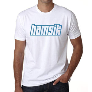 Hamsik Mens Short Sleeve Round Neck T-Shirt 00115 - Casual