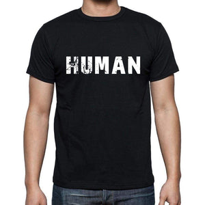 Human Mens Short Sleeve Round Neck T-Shirt - Casual