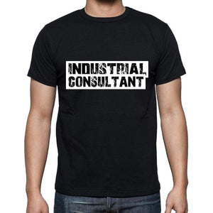 Industrial Consultant T Shirt Mens T-Shirt Occupation S Size Black Cotton - T-Shirt