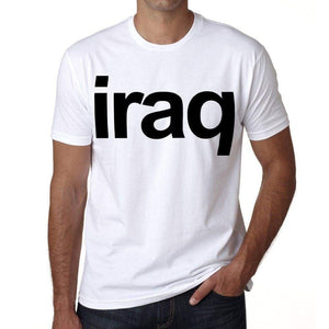 Iraq Mens Short Sleeve Round Neck T-Shirt 00067