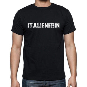 Italienerin Mens Short Sleeve Round Neck T-Shirt - Casual