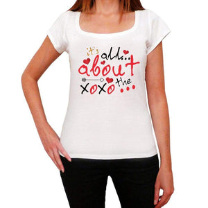 Its All About The Xoxo Womens Short Sleeve T-Shirt - Shirts