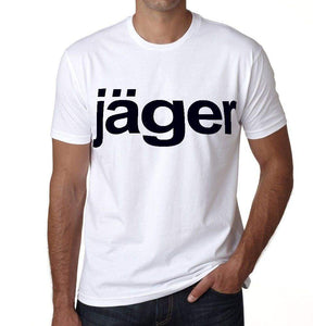 Jäger Mens Short Sleeve Round Neck T-Shirt 00052
