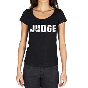 Judge Womens Short Sleeve Round Neck T-Shirt - Casual