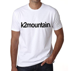 K2 Mountain Tourist Attraction Mens Short Sleeve Round Neck T-Shirt 00071