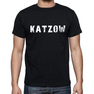 Katzow Mens Short Sleeve Round Neck T-Shirt 00003 - Casual