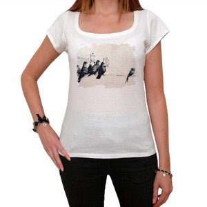 Keep Off Tshirt White Womens T-Shirt 00163