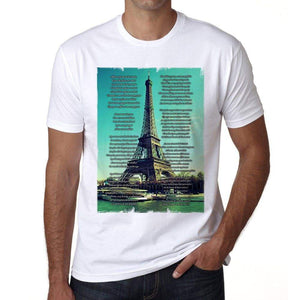 La Marseillaise Mens Short Sleeve Round Neck T-Shirt 00170