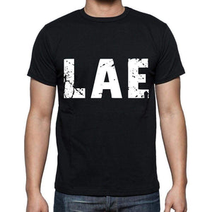 Lae Men T Shirts Short Sleeve T Shirts Men Tee Shirts For Men Cotton Black 3 Letters - Casual