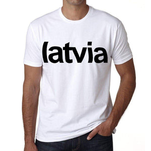 Latvia Mens Short Sleeve Round Neck T-Shirt 00067