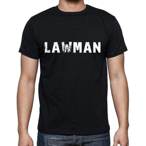 Lawman Mens Short Sleeve Round Neck T-Shirt 00004 - Casual