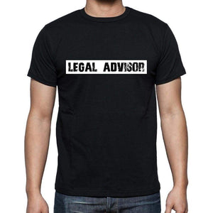 Legal Advisor T Shirt Mens T-Shirt Occupation S Size Black Cotton - T-Shirt