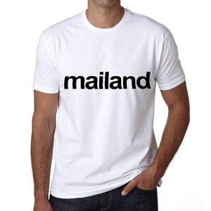 Mailand Mens Short Sleeve Round Neck T-Shirt 00047