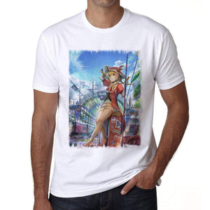 Manga Travel T-Shirt For Men T Shirt Gift 00089 - T-Shirt