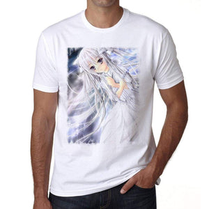 Manga White T-Shirt For Men T Shirt Gift 00089 - T-Shirt