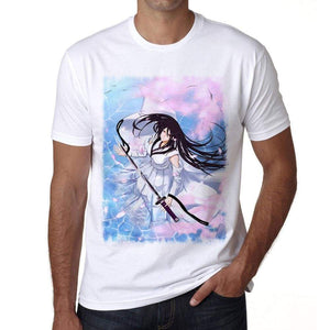 Manga With Sword T-Shirt For Men T Shirt Gift 00089 - T-Shirt