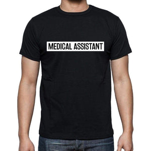 Medical Assistant T Shirt Mens T-Shirt Occupation S Size Black Cotton - T-Shirt