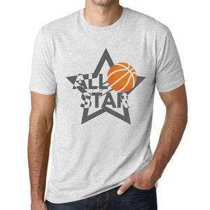 Mens Graphic T-Shirt All Star Basketball Vintage White - Vintage White / Xs / Cotton - T-Shirt