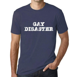 Mens Graphic T-Shirt LGBT Gay Disaster Denim - Denim / XS / Cotton - T-Shirt