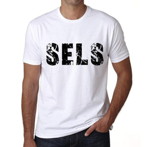 Mens Tee Shirt Vintage T Shirt Sels X-Small White 00560 - White / Xs - Casual