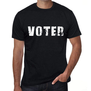 Mens Tee Shirt Vintage T Shirt Voter X-Small Black 00558 - Black / Xs - Casual