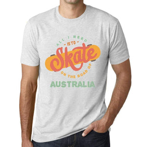 Mens Vintage Tee Shirt Graphic T Shirt Australia Vintage White - Vintage White / Xs / Cotton - T-Shirt