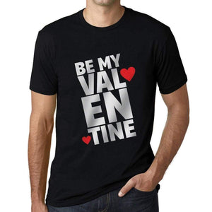 Mens Vintage Tee Shirt Graphic T Shirt Be My Valentine - Deep Black / Xs / Cotton - T-Shirt