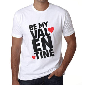 Mens Vintage Tee Shirt Graphic T Shirt Be My Valentine - White / Xs / Cotton - T-Shirt