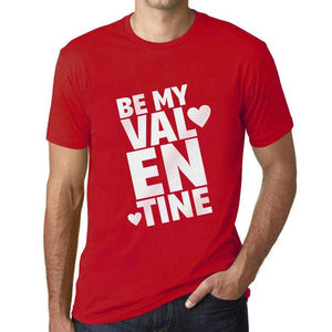 Mens Vintage Tee Shirt Graphic T Shirt Be My Valentine - Red / Xs / Cotton - T-Shirt