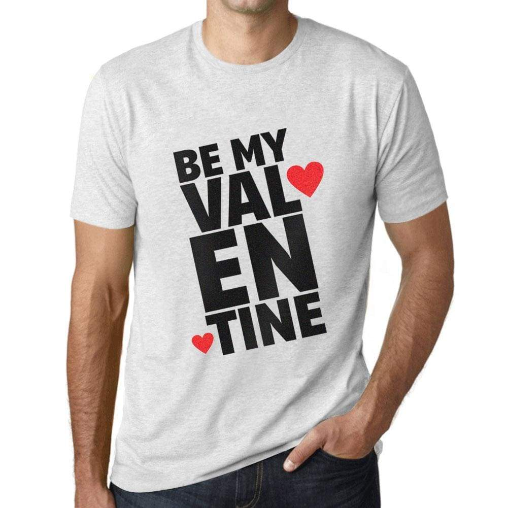 Mens Vintage Tee Shirt Graphic T Shirt Be My Valentine - Vintage White / Xs / Cotton - T-Shirt