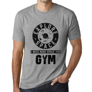 Mens Vintage Tee Shirt Graphic T Shirt I Need More Space For Gym Grey Marl - Grey Marl / Xs / Cotton - T-Shirt