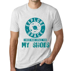Mens Vintage Tee Shirt Graphic T Shirt I Need More Space For My Shoes Vintage White - Vintage White / Xs / Cotton - T-Shirt