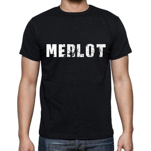 Merlot Mens Short Sleeve Round Neck T-Shirt 00004 - Casual