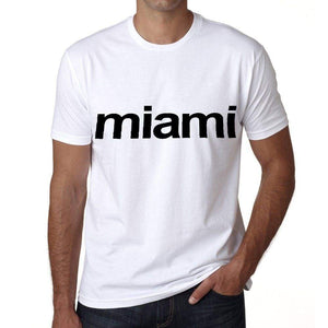 Miami Mens Short Sleeve Round Neck T-Shirt 00047