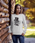 ULTRABASIC Women's Sweatshirt Cat Smoking - Tomcat Funny Sweater for Ladies