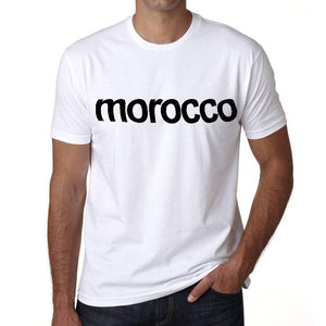 Morocco Mens Short Sleeve Round Neck T-Shirt 00067