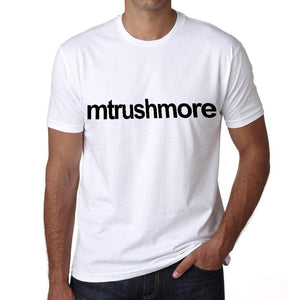 Mt Rushmore Tourist Attraction Mens Short Sleeve Round Neck T-Shirt 00071