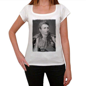 Napoleon Bonaparte 1 Womens Short Sleeve Scoop Neck Tee 00171