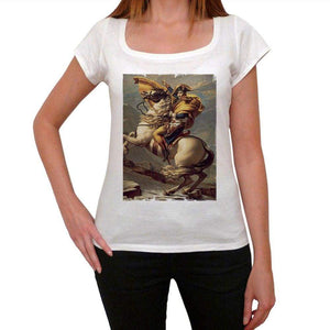 Napoleon Bonaparte Womens Short Sleeve Scoop Neck Tee 00171