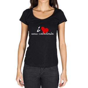 New Caledonia Womens Short Sleeve Round Neck T-Shirt - Casual