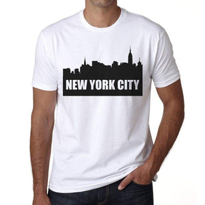New York City 1 Mens Short Sleeve Round Neck T-Shirt