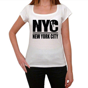 New York City Womens Short Sleeve Round Neck T-Shirt 00111