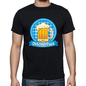 Oktoberfest 3 Oktoberfest T-Shirt Mens Black T-Shirt 100% Cotton 00202