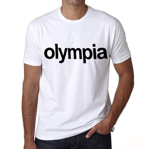 Olympia Tourist Attraction Mens Short Sleeve Round Neck T-Shirt 00071