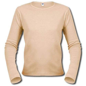 One In The City Customize Your Long Sleeve T-Shirt! 00275 - S / Beige